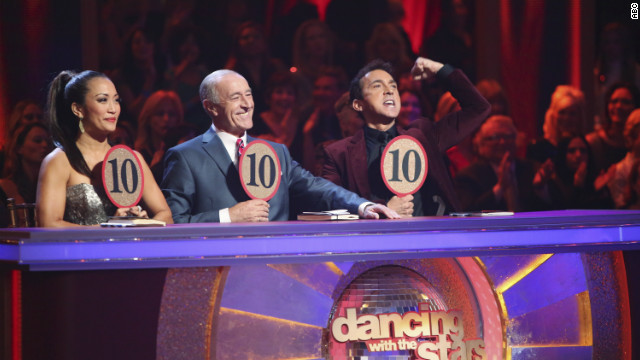 Triple perfection on 'DWTS'