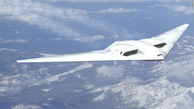 Northrup Grumman's previous experience with military &quot;flying wing&quot; designs led to this concept which NASA describes as extremely aerodynamic.