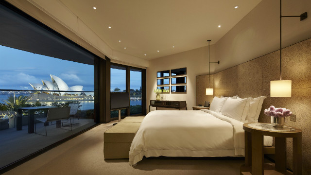 There are 155 rooms, including three new rooftop suites adjacent to the pool on the fourth floor, all of which have balconies with a view. The prestigious Sydney Suite is the grandest with almost 360-degree views of the bridge, harbor and opera house.