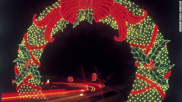 "Callaway Gardens' ""Fantasy of Lights"" is one of the largest light displays in the country, with more than 8 million individual lights across 15 scenes."
