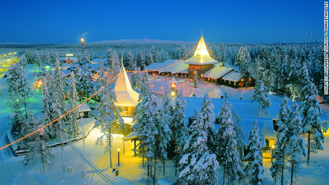 Far north, in Rovaniemi, Finland, &quot;the official home of Santa Claus&quot; has many attractions, including Santa himself.