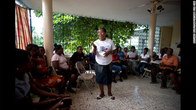 Reports of rape and sexual violence have been all too common in Haiti after the January 2010 earthquake that killed more than 220,000 people and displaced almost 25% of the population. &quot;We tell people to come out of silence,&quot; Villard-Appolon said. &quot;Do not be afraid to say that you have been victimized.&quot;