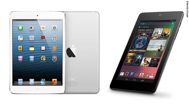 Ten-inch tablets are so last year. This season's hottest gifts are ultraportable 7-inch tablets. They're great for consuming media, and there are quality options for each major operating system. The <a href='http://www.apple.com/ipad-mini/overview/' target='_blank'>iPad Mini</a> (left) starts at $329, and Google's Android-based <a href='http://www.google.com/nexus/7/' target='_blank'>Nexus 7</a> (right) starts at $199.