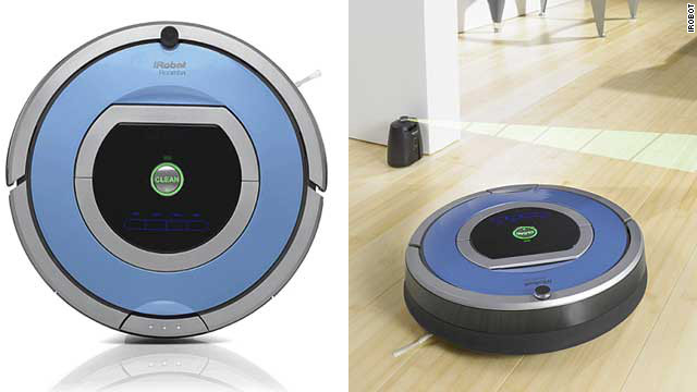 Cleaning your floor isn't fun -- unless you have a smart floor-cleaning robot that you can control with a remote while sipping a cocktail. <a href='http://www.irobot.com/us/robots/home/roomba.aspx' target='_blank'>Roombas</a> are pricey, from $350 up to $700, but they know exactly where to clean and even go under the bed without complaining (except sometimes <a href='https://twitter.com/SelfAwareROOMBA' target='_blank'>on Twitter</a>).