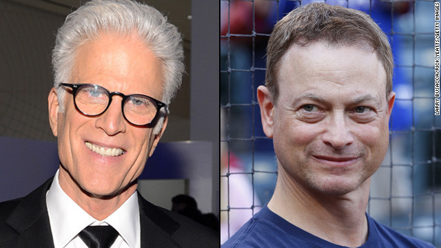 Ted Danson and Gary Sinise's character will swap locations.