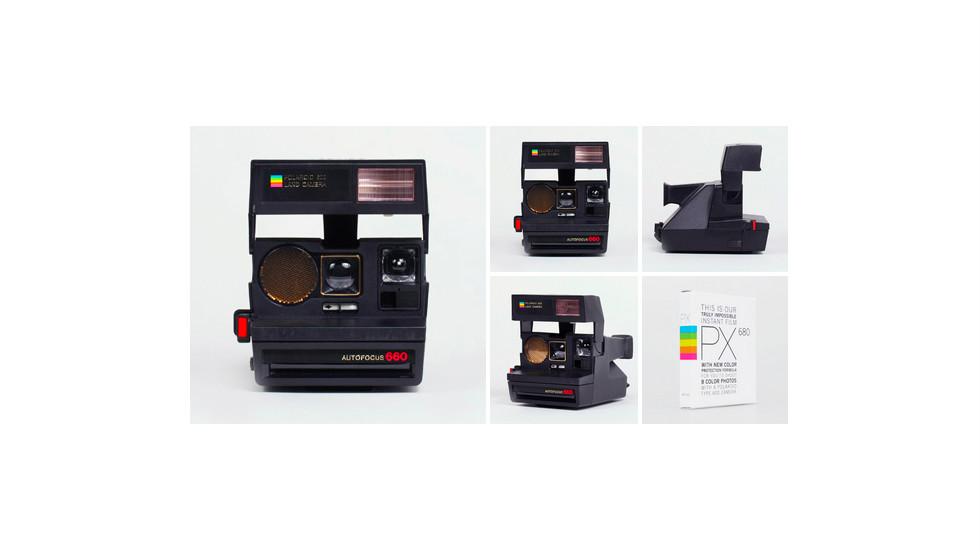 Cámara Polaroid para instantáneas