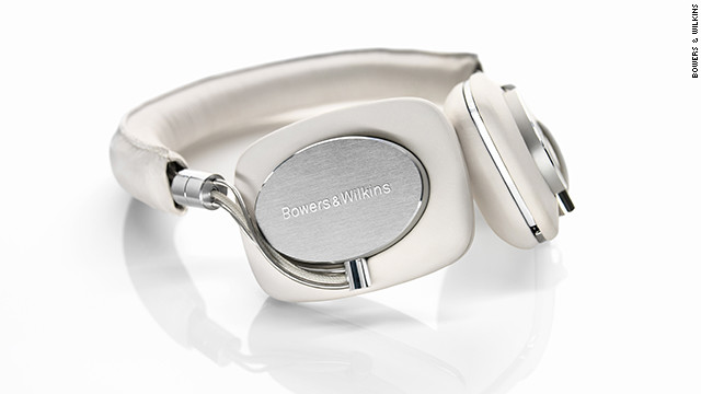 The &lt;a href='http://www.bowers-wilkins.com/Headphones/Headphones/P5/Overview.html' target='_blank'&gt;Bowers &amp;amp; Wilkins P5 headphones&lt;/a&gt; are not for people content with cheap in-ear buds. These are hi-fi headphones made out of sheep leather and metal, designed to cushion your ears and fill them with rich-sounding tunes while blocking out the rest of the world. The $300 headphones also have a built-in mic so you can take phone calls.