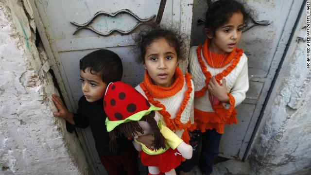 Los niños muertos en Gaza, víctimas de un conflicto que no comprenden