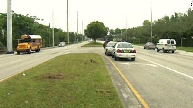 A 13-year-old girl was shot to death Tuesday morning on a school bus in Homestead, Florida, police say.