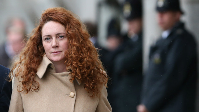 (File photo) Rebekah Brooks, the former head of News International, leaves the Old Bailey on September 26, 2012 in London