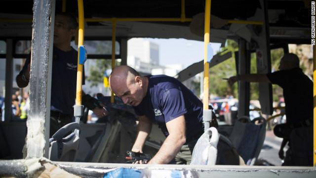 Israel detiene al presunto autor del ataque a un autobús en Tel Aviv