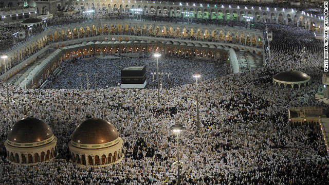 Muslim pilgrims gather at the Kabaa in Mecca. For some, the outrage stems from the ongoing commercialization of Mecca. There has been much discussion in recent years over the demolition of historically important religious buildings in the holy city to make way for new buildings.