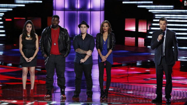 Top 10 whittled down on 'The Voice'