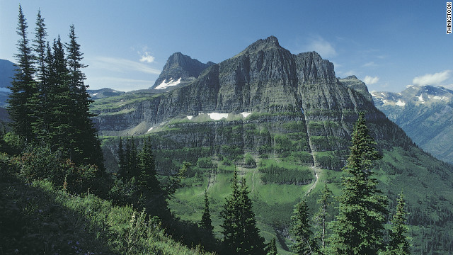 Author Laura Munson finds inspiration in the magnificence of Glacier National Park near her Montana home. Mount Oberlin is shown here.