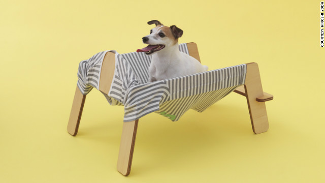 "'""Wanmock / type A"" by Torafu Architects for a Jack Russell Terrier."