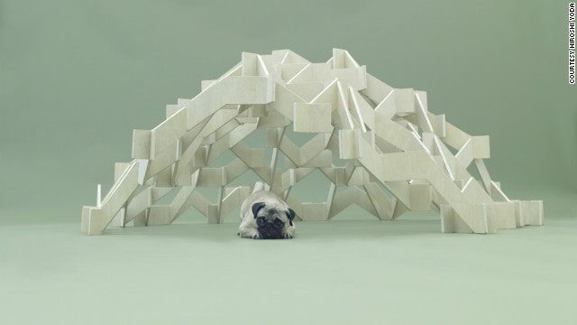 &quot;Mount Pug&quot; by Kengo Kuma.