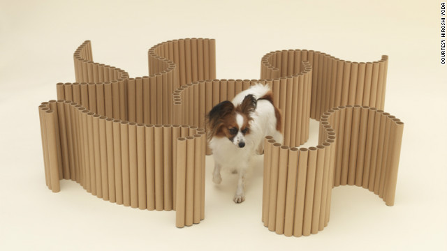 """Papier Papillon"" by Shigeru Ban for a Papillon."
