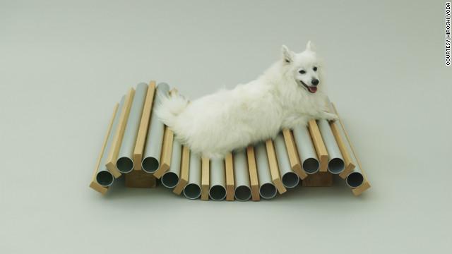 """Dog Cooler"" by Hiroshi Naito for a Spitz."