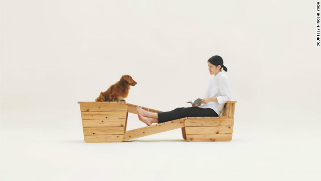 """Architecture for long-bodied-short-legged dog"" (i.e. a Dachshund) by Atelier Bow-Bow."