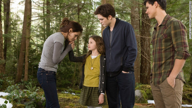 The final installment of &quot;The Twilight Saga&quot; isn't a surprising entry on the list, but what might surprise you is how close it came to getting knocked off entirely. &quot;Breaking Dawn -- Part 2&quot; just barely edged out &quot;The Amazing Spider-Man&quot; to make it to No. 10 on our list. &lt;a href='http://www.cnn.com/2012/11/15/showbiz/movies/breaking-dawn-2-review-charity/index.html?iref=allsearch' target='_blank'&gt;Here's a review of &quot;Breaking Dawn -- Part 2,&quot;&lt;/a&gt; and here's&lt;a href='http://www.cnn.com/2012/11/16/showbiz/movies/twilight-saga-refresher/index.html?iref=allsearch' target='_blank'&gt; a refresher course on the &quot;Twilight Saga&quot;&lt;/a&gt; in case you need it. 
