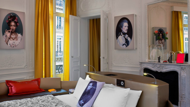 Housed in an elegant 1870s Haussmann building opposite the Opera Garnier, the W Paris has been designed by architecture and interior design specialists Rockwell Group Europe. 