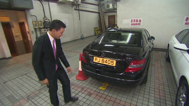 Estacionarse en Hong Kong es un lujo al alcance de pocos