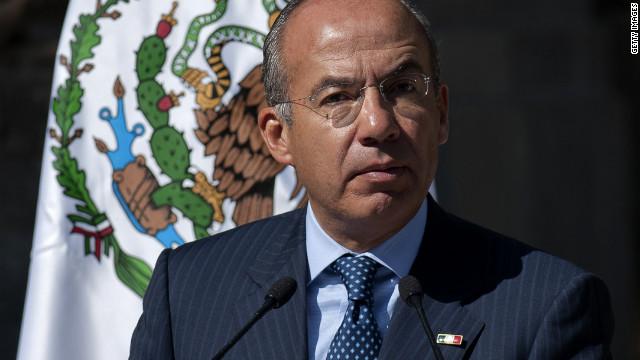 Calderón quiere cambiar el nombre de México