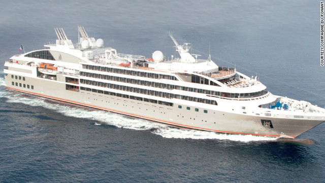 Designed for jet-setters, this ship spends summer in the Arctic Circle and fall in Russia or Asia, with stops from Japan to Vietnam.