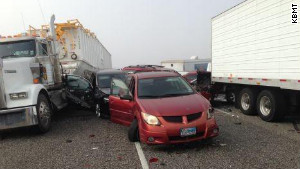 No details were known about the fatalities or exactly how many injuries resulted from the accidents, officials said.