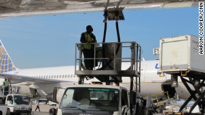 Ground crews are essential to keeping flights on time. Their work is \