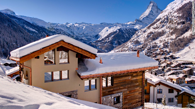 Grace has everything you'd expect from a luxury chalet, with the requisite yoga room to the extensive bar, but the real selling point is the stunning views it offers of the Matterhorn.