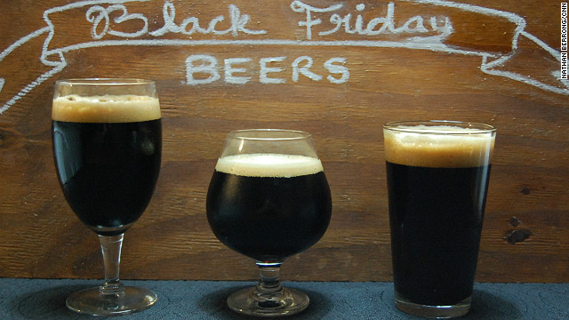 Black beer for Black Friday