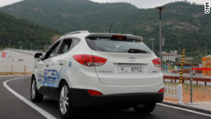 Fuel-cell cars on the right road