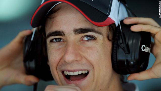"""El mexicano Esteban Gutiérrez """"da el salto"""" a la Fórmula 1 con la escudería Sauber"""