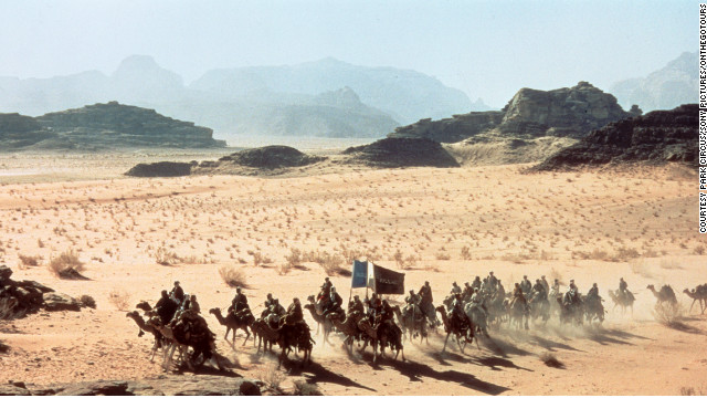 Jordan's desert vistas feature prominently in David Lean's epic &quot;Lawrence of Arabia&quot; -- which celebrates its 50th anniversary this year.