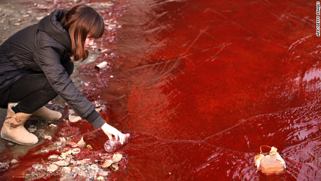 Experts say pollution is a serious threat to China's already limited water supplies.