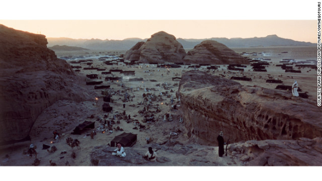 Director of Photography Freddie Young won an Academy Award for his work capturing the film's unique landscapes -- one of the film's seven Oscar wins.