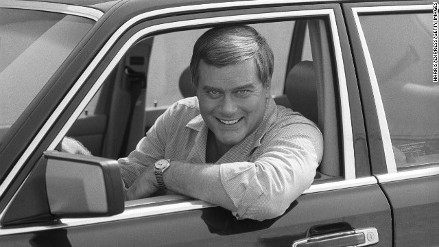 Hagman poses in October 1983.
