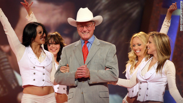 Hagman appeared at the 2006 TV Land Awards.