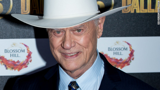 Hagman attends the Channel 5 Dallas Launch Party at Old Billingsgate Market on August 21, 2012, in London.