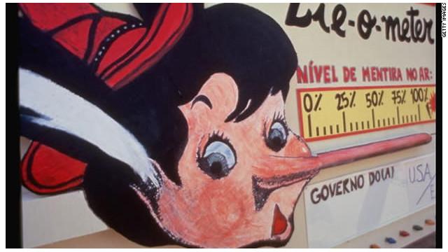 """Descubren el efecto """"Pinocho""""... ¡Mientes!, se te nota en la nariz"""