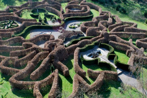Laberinto del Hombre Verde, Gales