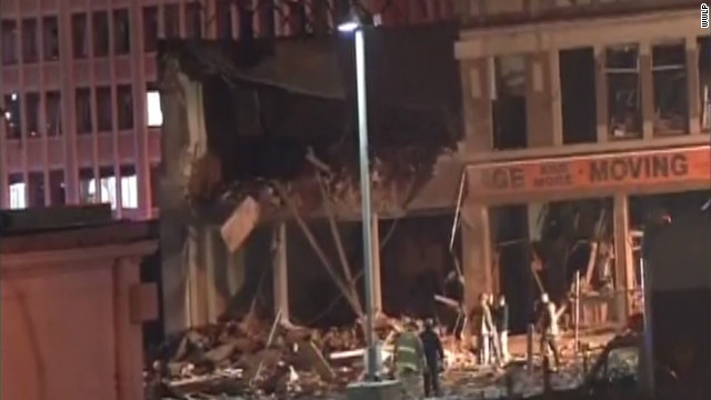 Several injured in blast caused by gas leak at Massachusetts strip club