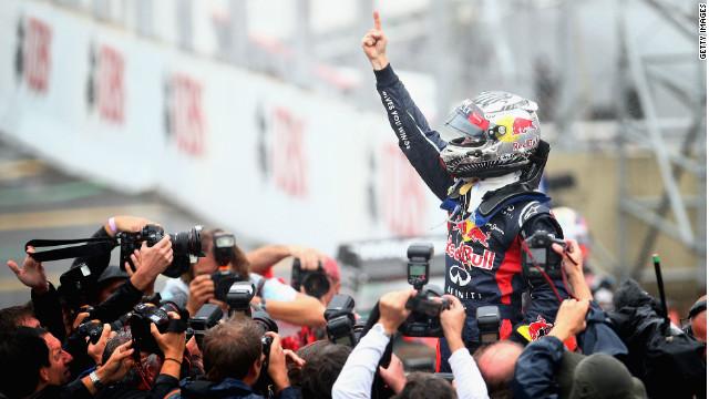 Гран-При Бразилии 2012, гонка. Себастьян Феттель.