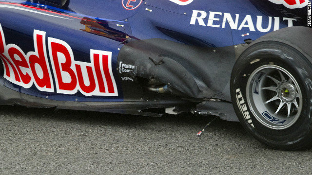 Vettel suffered a nightmare start on the opening lap after being hit on the fourth turn and suffering damage to his car. His team radio swiftly brought news, telling the German: &quot;There is visible damage. It is not front wing, we cannot fix it.&quot; The incident left Vettel at the back of the grid but by the 24th lap of 71, the safety car had been called to clear debris from the track with the Red Bull racer having clawed his way back to fifth place.