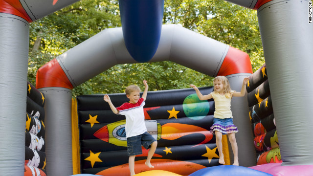 An average of one child every 45 minutes was treated in an emergency room for inflatable bouncer-related injuries in 2010.