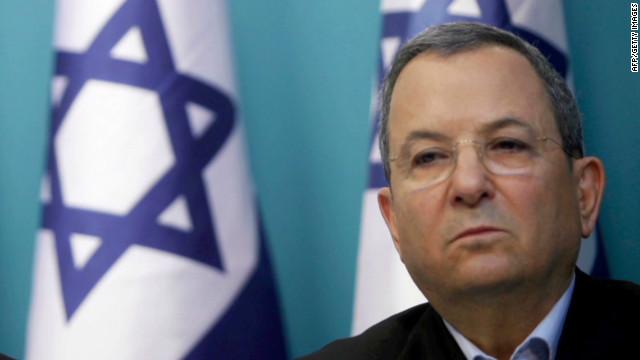 El ministro de defensa israelí Ehud Barak anuncia que dejará la política