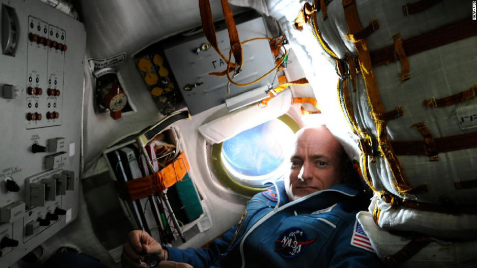 Capt. Scott Kelly will set the record for the longest single space mission for an American astronaut and spend one year on the International Space Station, NASA announced Monday. Kelly, Expedition 25 flight engineer, is pictured inside the Soyuz TMA-01M spacecraft on docking day with the space station. Here's a look at some other milestones in space: