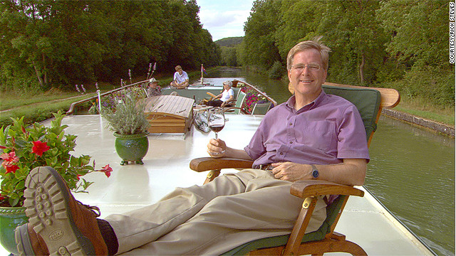 Rick Steves stumps for pot