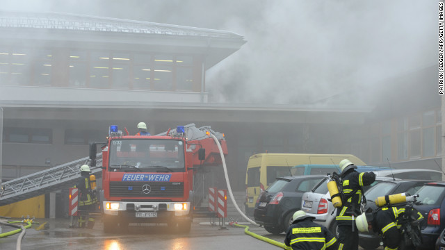 Fire kills 14 at workshop for disabled in Germany